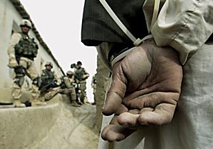 A US prisoner in Afghanistan