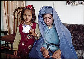 Abdul Rauf al-Qassim's wife and daughter