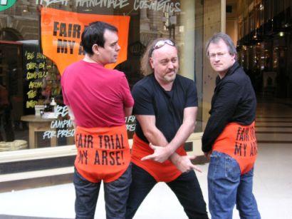 Kevin Eldon, Bill Bailey & Robin Ince