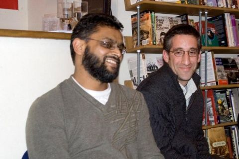 Moazzam Begg and Zachary Katznelson