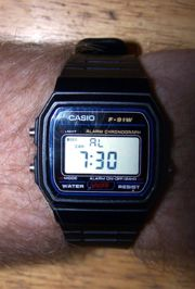 The model of Casio watch allegedly associated with terrorist attacks