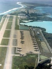 The US military base on Diego Garcia