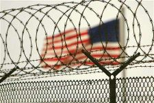 The US flag at Guantanamo