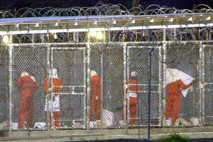 Detainees at Guantanamo