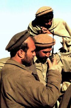Haji Zahir (center)