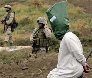 A suspected Iraqi insurgent