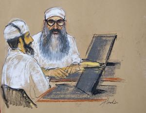 Walid bin Attash and Khalid Sheikh Mohammed