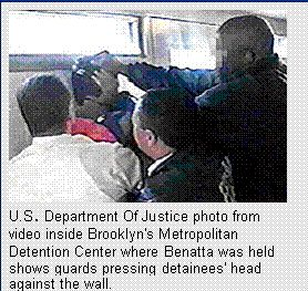 Abuse of detainees in Brooklyn's Metropolitan Detention Center