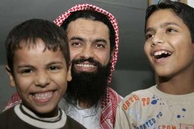 Osam Abu Kabir and his sons