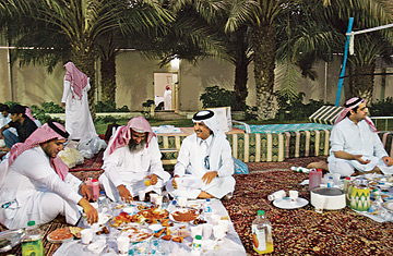 Former jihadists in the Saudi rehabilitation center