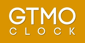 "The logo for the new ""Gitmo Clock"" website, designed by Justin Norman."
