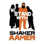 The logo for the We Stand With Shaker campaign, launched on Nov. 24, 2014.