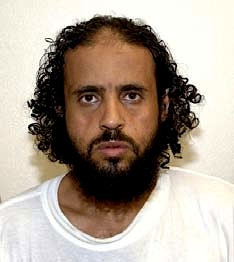 Yemeni prisoner Abd al-Salam al-Hela, in a photo from Guantanamo included in the classified military files released by WikiLeaks in 2011.