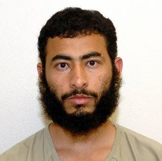 Abdel Ghalib Hakim, a Yemeni prisoner in Guantanamo who was released to start a new life in Georgia in November 2014. Hakim is seen in a photograph from Guantanamo included in the classified military files released by WikiLeaks in 2011.