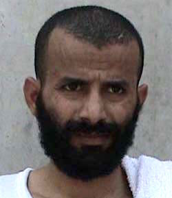 Yemeni prisoner Abdel Qadir Mudafari, one of 15 Guantanamo prisoners released last week, and given new homes in the United Arab Emirates, in a photo included in the classified military files released by WikiLeaks in 2011.