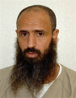 Moroccan prisoner Abdul Latif Nasir, in a photo from Guantanamo included in the classified military files released by WikiLeaks in April 2011.
