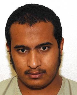 One of the four Yemeni prisoners released in January 2015 in Oman - Abd al-Rahman Abdullah Abu Shabati (aka Abd al-Rahman Muhammad), in a photo from the classified military files relating to the Guantanamo prisoners, which were released by WikiLeaks in April 2011.