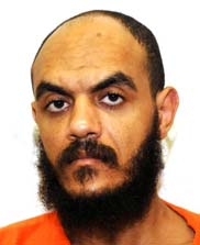 Guantanamo prisoner Abdul Rahman Shalabi, in a photo included in the classified military files released by WikiLeaks in 2011.