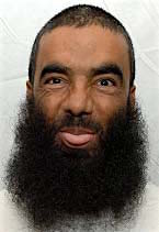 Afghan prisoner Abdul Zahir, in a photo from Guantanamo included in the classified military files released by WikiLeaks in April 2011.