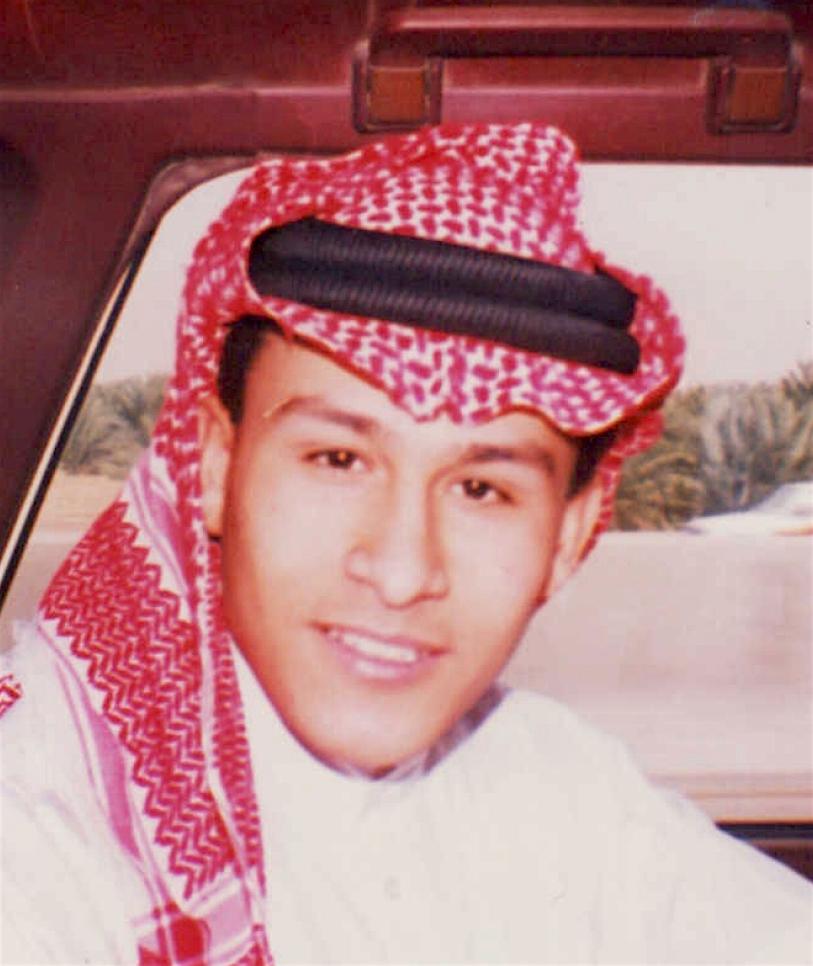 Abu Zubaydah as a young man (Photo by Abu Zubaydah's childhood friend, Muhammad Shams al-Sawalha).