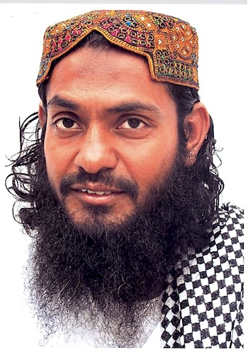 Guantanamo prisoner Ahmed Rabbani in a photo made available by his lawyers at Reprieve, and taken before his weight dropped to under 100 pounds as a hunger striker.