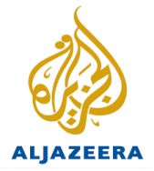 The logo of Al-Jazeera.