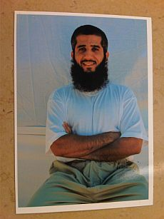 Fayiz al-Kandari, photographed at Guantanamo in 2009 by representatives of the International Committee of the Red Cross.