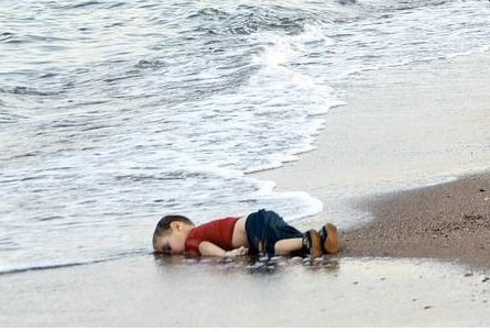 Aylan Kurdi, the three-year old Syrian boy whose body washed up on Bodrum beach in Turkey. The photo, understandably, went viral and has led to calls for greater support for refugees in Europe, and particularly in the UK, which, by far, has failed to match German generosity.