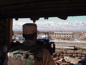 The US base - and prison - at Bagram