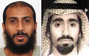 Ali Hamza al-Bahlul and Abd al-Rahim al-Nashiri, Guantanamo prisoners who have submitted petitions to the Supreme Court.