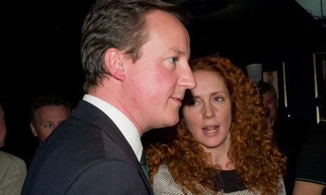 David Cameron and Rebekah Brooks at a book launch in 2009 (Photo: Dafydd Jones).