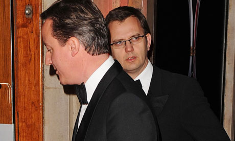 David Cameron and Andy Coulson (Photo: David Fisher/Rex Features).