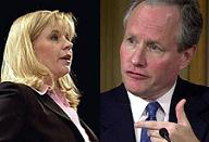 Liz Cheney and Bill Kristol of Keep America Safe