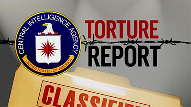 A graphic dealing with CIA torture report, whose executive summary was released in December 2014.