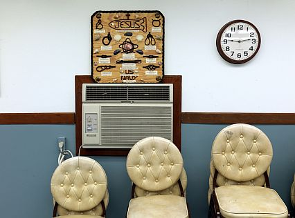 Guantánamo Naval Base Fellowship Room (Photograph © Edmund Clark)