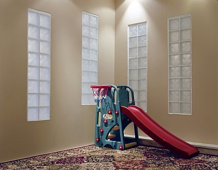 A child's playroom at the home of a former Guantánamo detainee (Photograph © Edmund Clark)