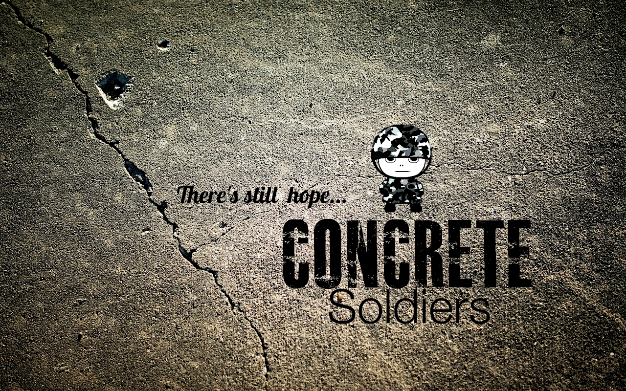 A promotional image for 'Concrete Soldiers', a new documentary film about the threat to social housing in London, directed by Nikita Woolfe, featuring narration by Andy Worthington.