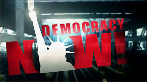 "The logo for ""Democracy Now!"""