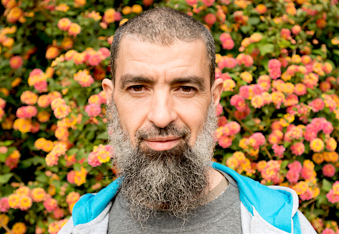 Djamel Ameziane, photographed after his release from Guantanamo by Debi Cornwall.