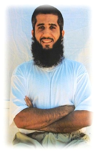Fayiz al-Kandari. photographed at Guantanamo by representatives of the International Committee of the Red Cross in 2009.