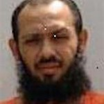 Yemeni prisoner Fayiz Suleiman, in a grainy photo from Guantanamo.