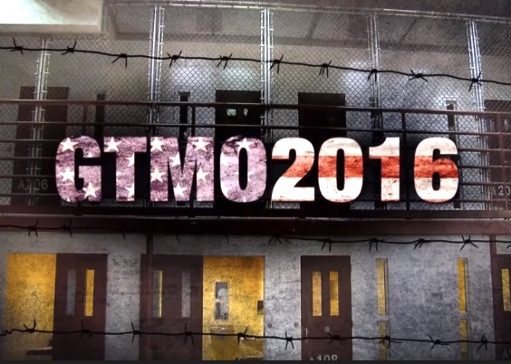 Gitmo 2016: a screen shot from RT America's one-hour special on Guantanamo in June 2016.
