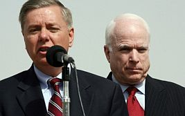 Senators Lindsey Graham and John McCain