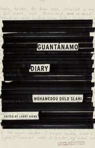 "The cover of ""Guantanamo Diary"" by Mohamedou Ould Slahi, published in January 2015."
