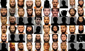 Photos of some of the Guantanamo prisoners, included in the classified military files released by WikiLeaks in 2011.