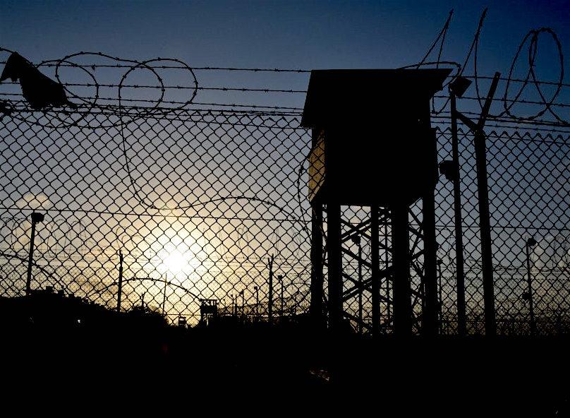 Sunrise at Camp Delta, Guantanamo, August 14, 2016 (Photo: George Edwards).