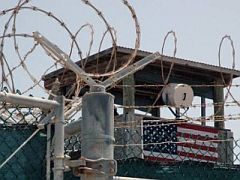A guard tower at Guantanamo