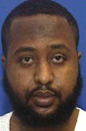 "Guleed Hassan Ahmed aka Gouled Hassan Dourad, a Somali prisoner in Guantanamo, held in CIA ""black sites"" from 2004 until his arrival at Guantanamo in September 2006. This photo is from the classified military files released by WikiLeaks in 2011."
