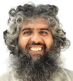 Haji Hamidullah, in a photo included in the classified military files from Guantanamo that were released by WikiLeaks in 2011.