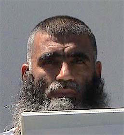 Afghan prisoner Haji Wali Mohammed, in a photograph from Guantanamo included in the classified military files released by WikiLeaks in 2011.